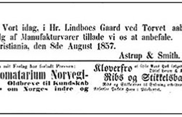 Annonse_Morgenbladet_1857