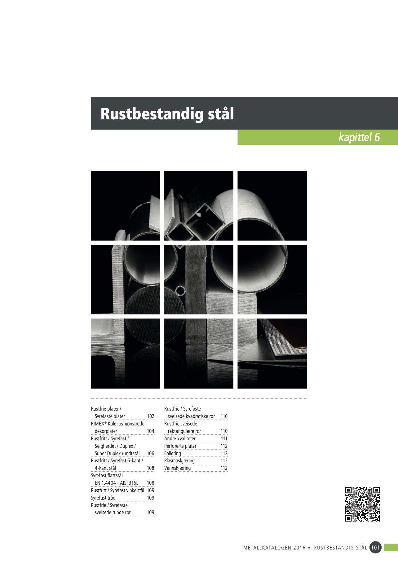 06 Rustbestandig stål