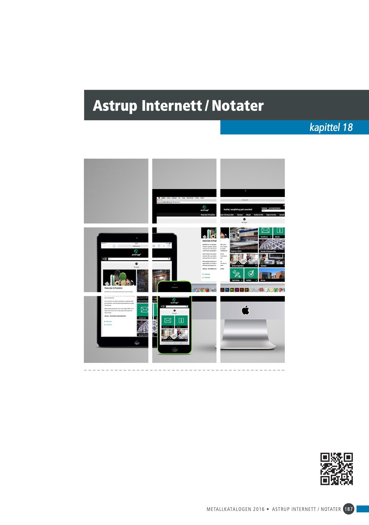 18 Astrup Internett / Notater