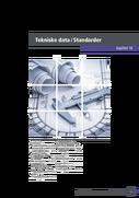 16 Tekniske data / Standarder