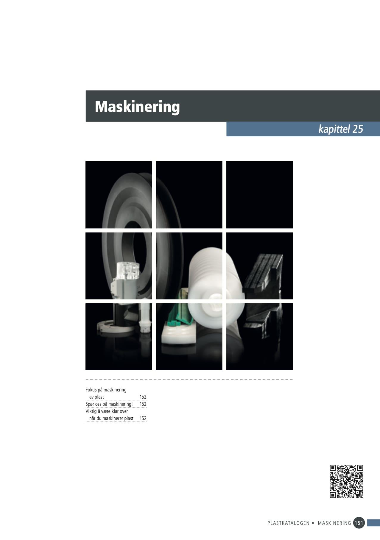 25. Maskinering